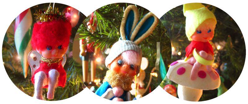 2012 vintage ornaments
