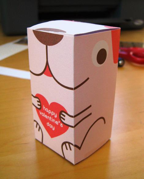 Valentine's doggy box