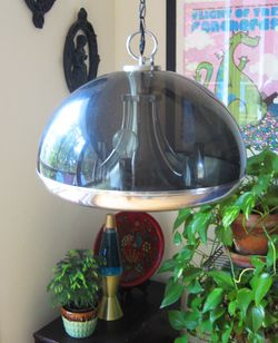 Rummage sale light fixture