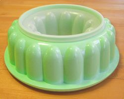 Jello mold container