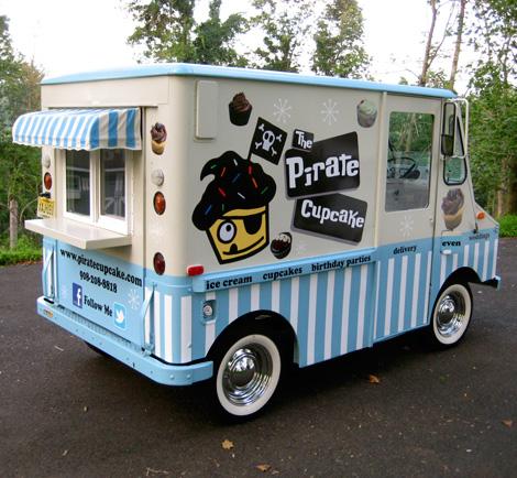 Pirate cupcake truck 2