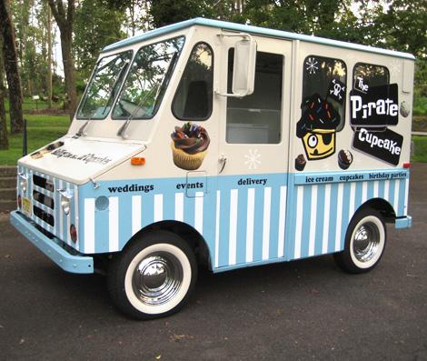 Pirate cupcake truck