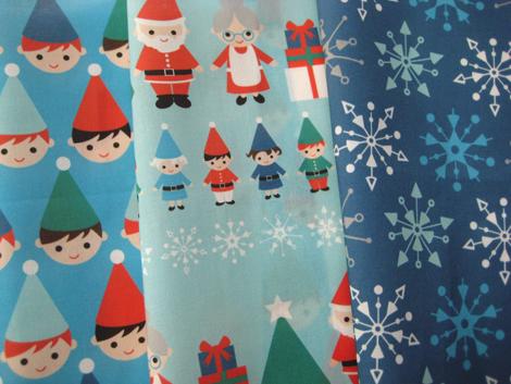 Elf fabrics blue