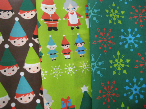 Elf fabrics green
