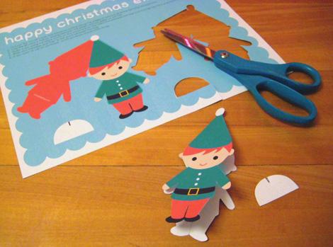 Elf cut out