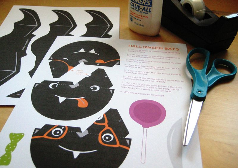 Bubbledog halloween bats supplies